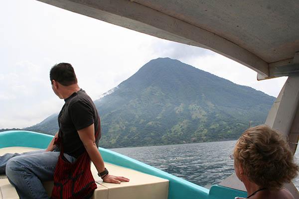 Boottocht op het Atitlanmeer