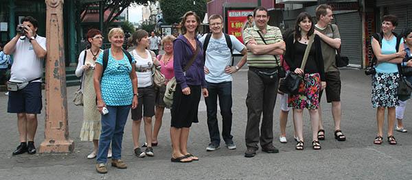 Reizigersgroep Midden-Amerika