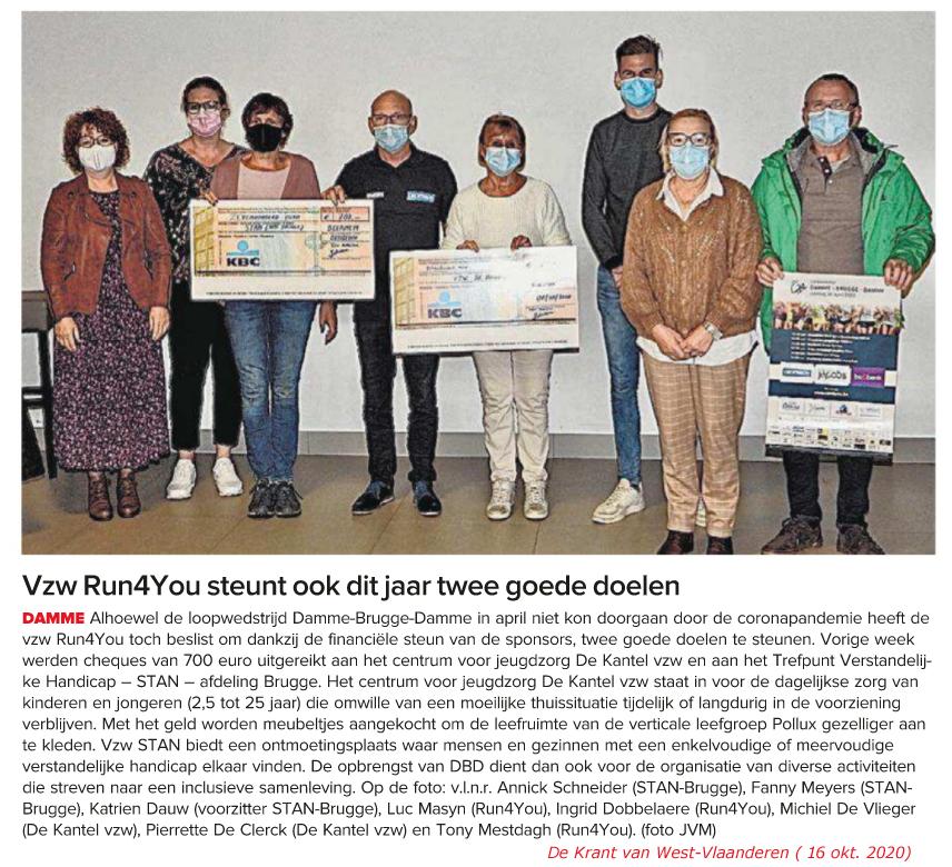 Damme-Brugge-Damme - Goede Doelen 2020